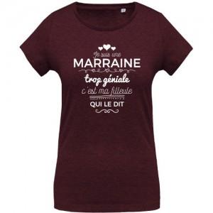 T-shirt marraine trop géniale