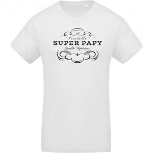 T-shirt Super Papy qualité supérieur