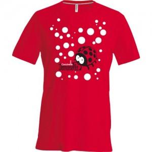 T-shirt fille coccinelle