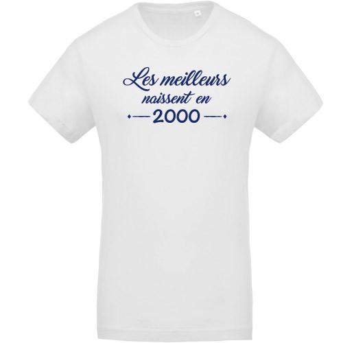 T-shirt Meilleurs naissent en 2000
