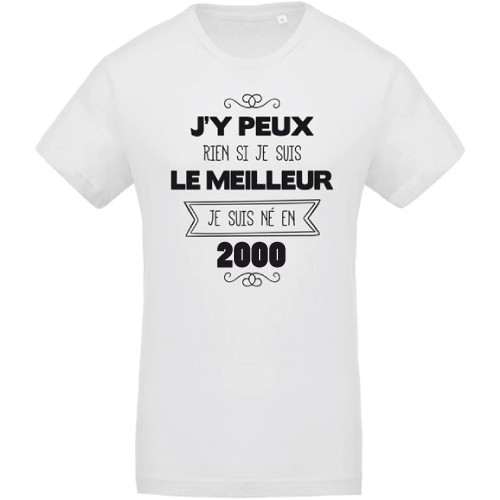T-shirt J'y peux rien 2000