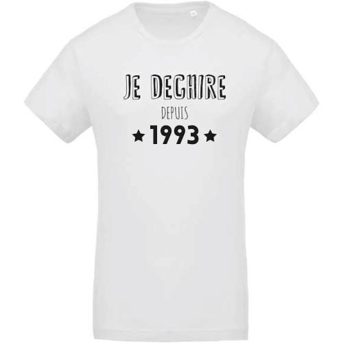 T-shirt Je dechire depuis 1993