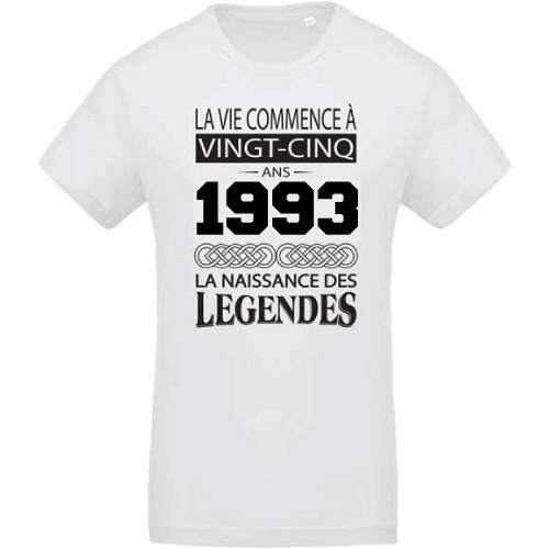 T-shirt Naissance des légendes 1993