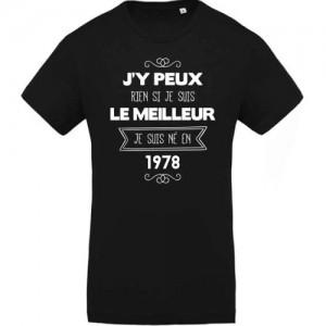 T-shirt J'y peux rien 1978