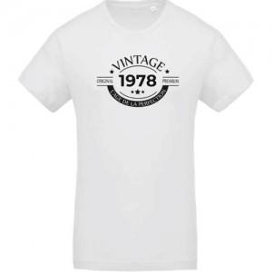 T-shirt vintage original 1978