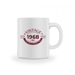 Mug vintage original 50 ans