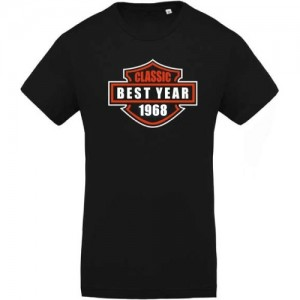 T-shirt Best year 1968
