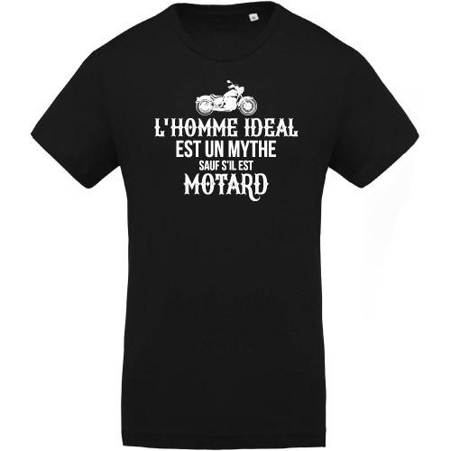 T-shirt Homme idéal Motard