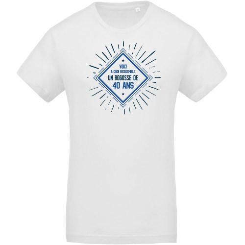 T-shirt Bogosse 40 ans