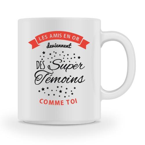 Mug Super Temoins comme moi