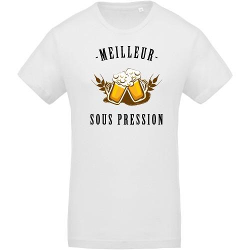 T-shirt Bio Meilleur sous pression