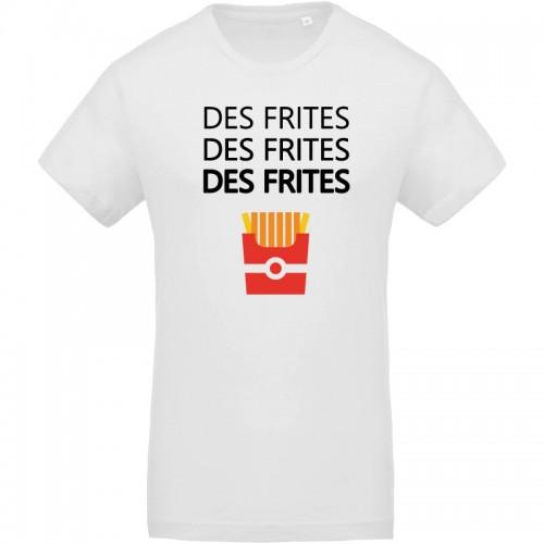 T-shirt bio des frites