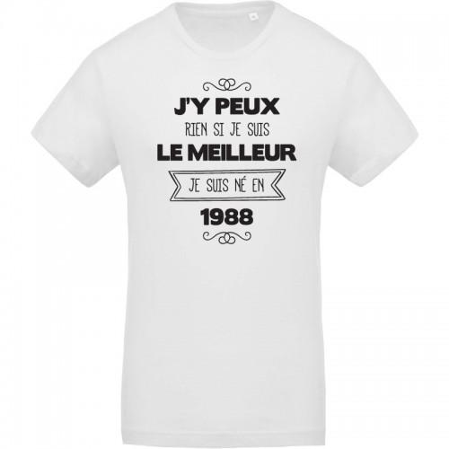 T-shirt Bio J'y peux rien 1988