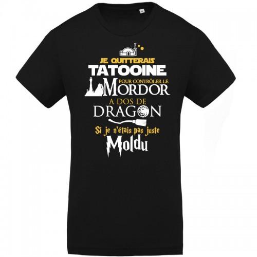 T-shirt Bio Séries et films fantastiques