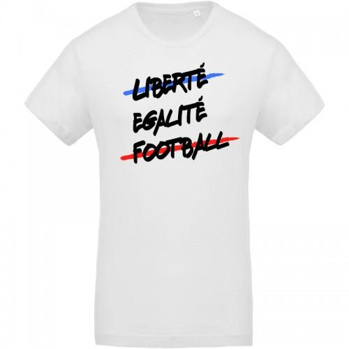 T-shirt Bio Liberté Egalité Football