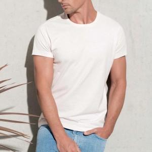 Personnalisez Votre T-shirt homme coton Bio col Rond