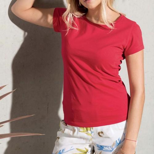 Personnalisez Votre T-Shirt femme coton Bio Col Rond