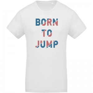T-shirt Bio Born to jump