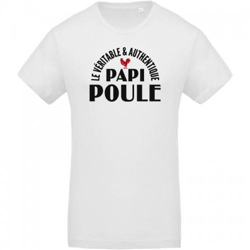 T-shirt Bio papi poule