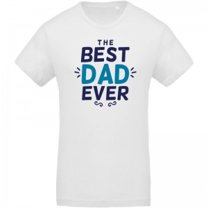 T-shirt Bio Best dad ever