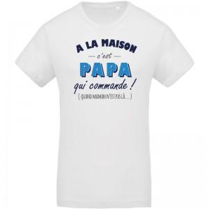 T-shirt Bio papa qui commande