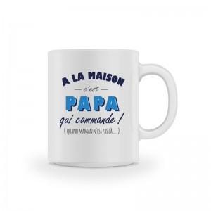 Mug cadeau papa qui commande