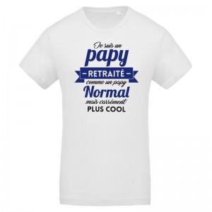 T-shirt Je suis un Papy retraité