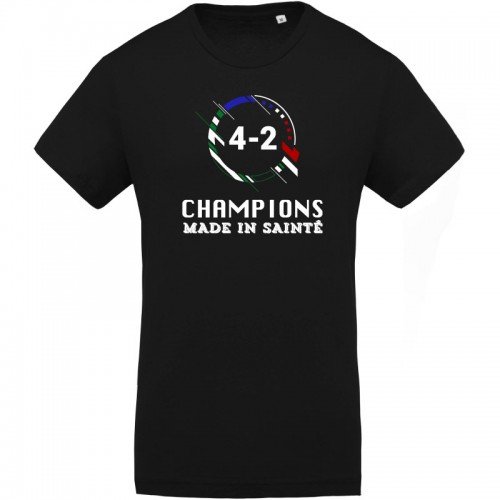 T-shirt Champions du monde made in Sainté