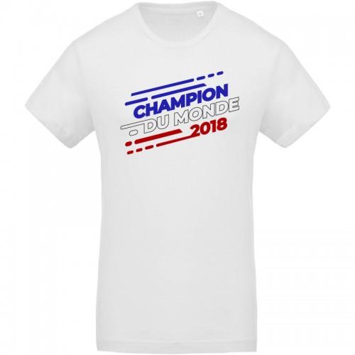 T-shirt Champion du monde 2018
