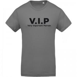 T-shirt imprimé VIP parrain