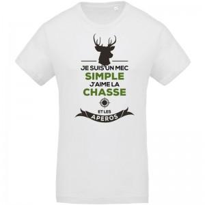 T-shirt Bio chasse et Apéros