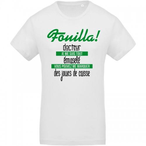 T-shirt citation gaga stéphanois