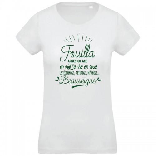 T-shirt Fouilla la vie en rose