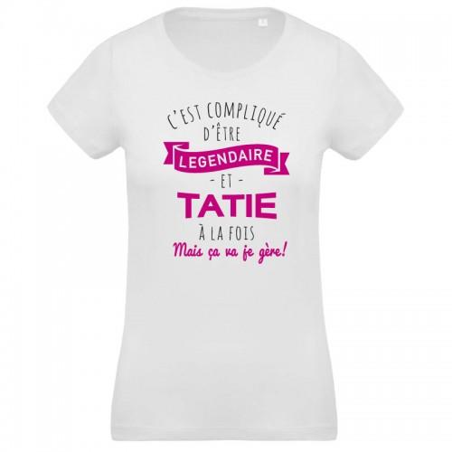 T-shirt Tatie légendaire