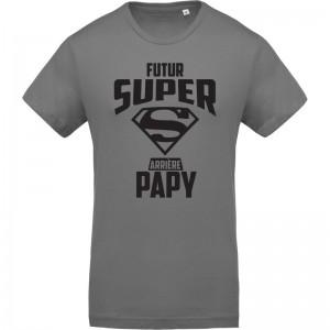 T-shirt Futur super arrière papy
