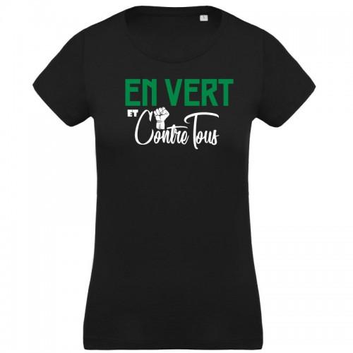 T-shirt En vert et contre Tous