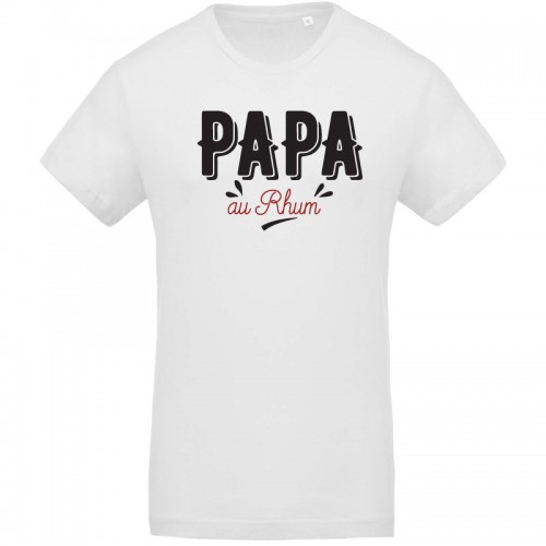 T-shirt Homme Papa au rhum