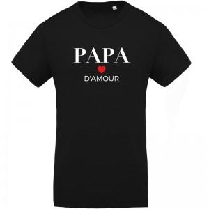 T-shirt Papa d'amour - Homme