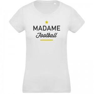 Tee shirt femme Madame football