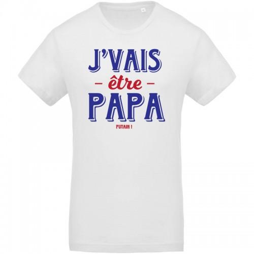 Tee-shirt J'vais être papa
