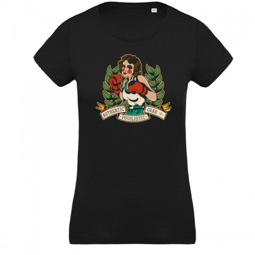 Tee-shirt femme boxeuse - APG