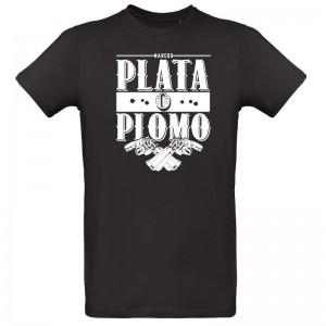 Tee shirt Narcos Plata o Piomo (ARGENT OU PLOMB)