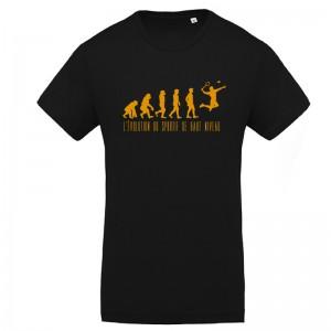 Tee-shirt evolution Badminton