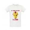 T-Shirt Je t'aime plus que trois fois mille