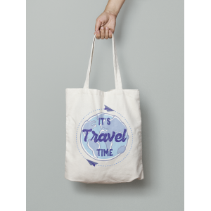 Tote bag It's Travel Time