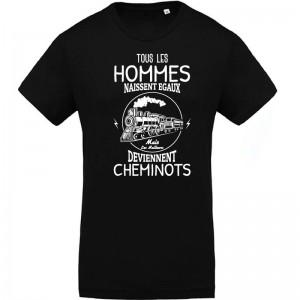 T-shirt hommes égaux cheminots