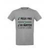 T-Shirt Je peux pas j'ai match à Geoffroy Guichard