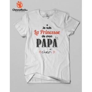 T-shirt Princesse à papa