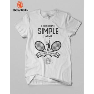 T-shirt Tennis et apéro