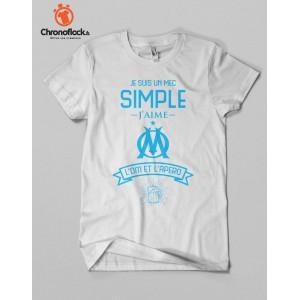T-shirt OM et apéro